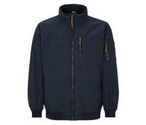 Leichte Utility Blouson-Jacke blau