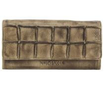 FREDsBRUDER Rechteck Geldbörse Leder 19 cm beige