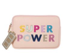 Tasche 'Super Power' schwarz