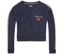 Sweatshirt 'thdw CN Hknit L/S 16' nachtblau
