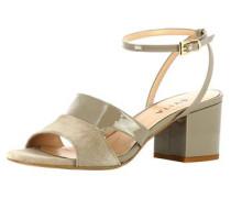 Damen Sandalette schlammfarben