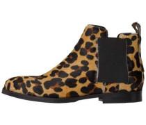 Boots hellbeige / schwarz