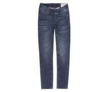 Jeggings Jeans Girls MID Mädchen Kinder blau / dunkelblau