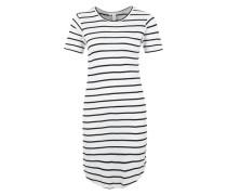 Kleid 'Remy' im Ringel-Muster schwarz / weiß