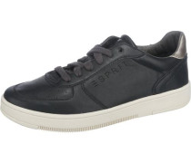'Desire' Sneakers schwarz / silber