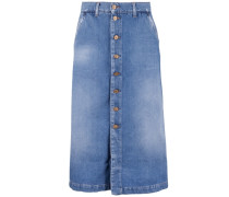 Jeansrock Long Skirt blau