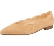 Klassische Ballerinas beige / naturweiß