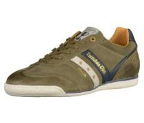 Sneaker blau / oliv / weiß