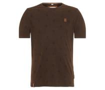Male T-Shirt El Master Del Buscho III braun