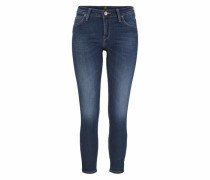 Skinny-fit-Jeans blue denim