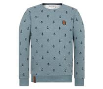 Male Sweatshirt rauchblau