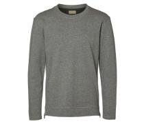 Crew-Neck Sweatshirt grau
