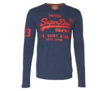 Langarmshirt 'shirt Shop' grau