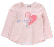 Baby Langarmshirt für Mädchen hellblau / pastellgelb / pastellgrün / pink / rosa / weiß