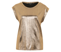 Metallic Shirt 'Low' gold