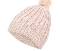 Strick-Hut beige