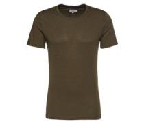 T-Shirt 'The Crew Neck Tee' dunkelgrün