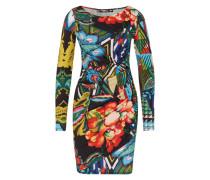 Kleid 'Rosita' mischfarben / schwarz