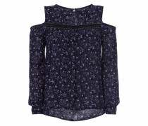 Blusentop 'Fern Cold Shoulder Blouse' navy