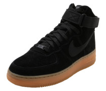 Sneaker High 'Air force 1 '07 lv8' schwarz
