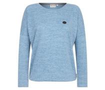 Female Sweatshirt 'Zeich ma Titten' himmelblau