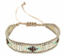 Armband »Tanjura 6495« beige / silber