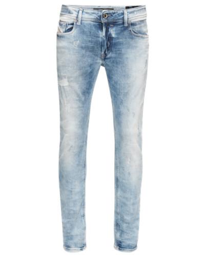 'Sleenker' Jeans Skinny Fit 84Dk rauchblau