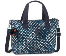 'Amiel' Handtasche 27 cm blau / schwarz / weiß