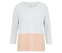 Pullover 'celia' grau / pfirsich