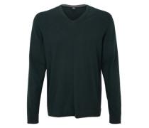 Pullover mit Merino-Wolle grün