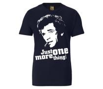 "T-Shirt ""just ONE More Thing!"" blau"
