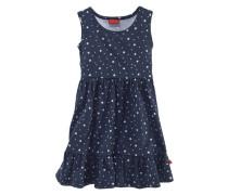 Kleid & Haarband mit Sternendruck (Set 2-tlg.) enzian / weiß