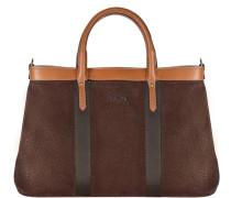 Shopper Tasche 36 cm braun