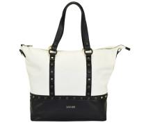 Shopping Orizzontal Shopper Tasche 32 cm schwarz / weiß