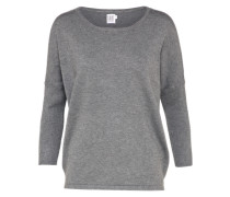 Sweater 'knit' graumeliert