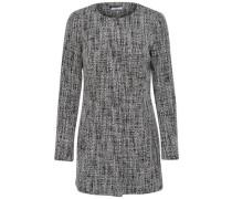 Klassische Jacke grau / schwarz / weiß