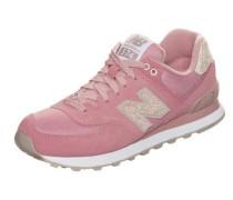 'wl574-Cic-B' Sneaker beige / altrosa