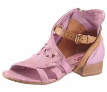 Sandalette lila / rosa