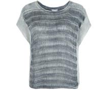Stricktop Crochet grau