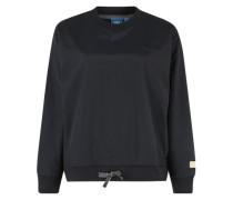 Sweatshirt mit Schleifendetail nachtblau