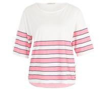 Streifenshirt 'Leila' pink
