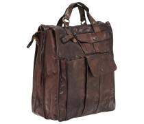 Handtasche 'Lavata' braun