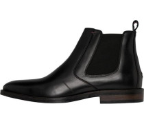 Stiefeletten »Essential Leather Chelsea Boot« schwarz