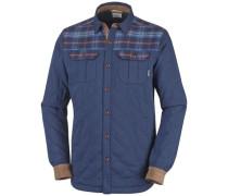 Jacke Kline Falls Shirt marine / braun