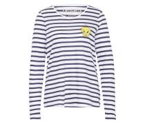 T-Shirt 'Tweety' blau / weiß