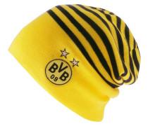 Borussia Dortmund Beanie gelb / schwarz