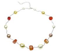 Perlenkette 'Johari' mischfarben