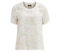 T-Shirt O-neck weiß