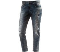Mika Boyfriend Jeans Damen schwarz