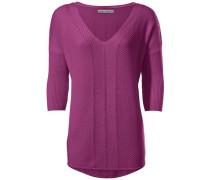 V-Pullover Oversized pink